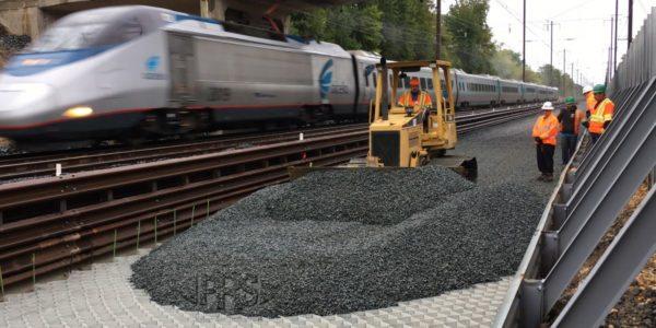مقاوم سازی خطوط راه آهن با استفاده از ژئوسل