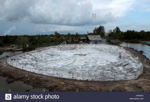 استخر های اهک و خاک رس