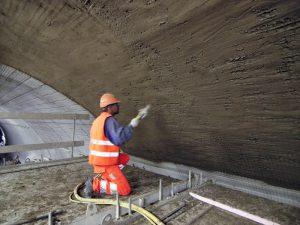 ایزولاسیون تونل بتن اب بند