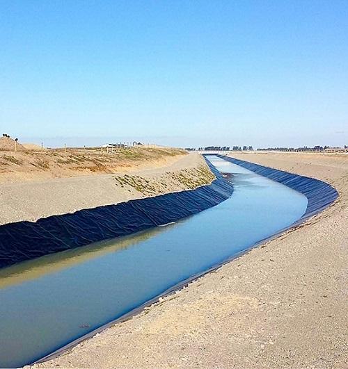 استفاده از ژئوممبران در ایزولاسیون کانال آب