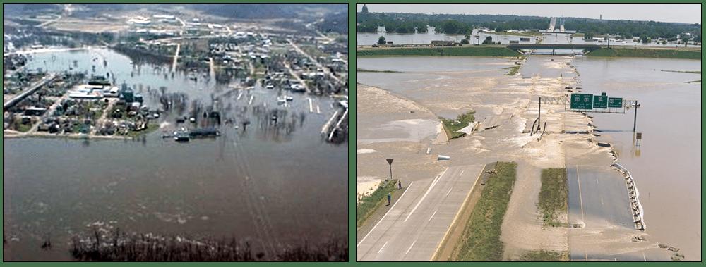 کاربرد ژئوسل در کنترل و کاهش خسارت سیلاب ها