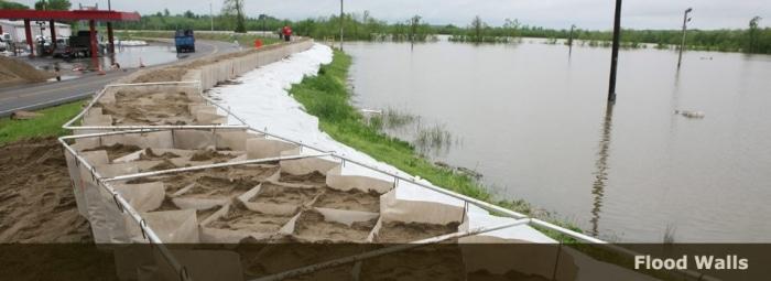 کاربرد گسترده ژئوسل در کنترل سیلاب ها