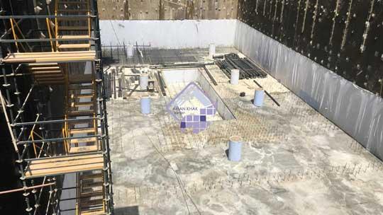 ایزولاسیون پروژه برج بهشت نیاتوس، الهیه تهران